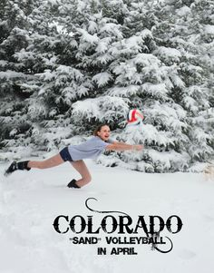 "Colorado ""sand"" volleyball!"