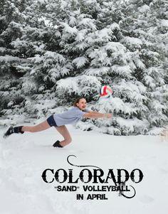 """Colorado """"sand"""" volleyball!"""