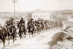 Australian light-horse regiment, marching in Sheikh Jarrah, East Jerusalem, on the way to Mt. Scopus, (Library of Congress). World War I in Photos: Global Conflict - The Atlantic