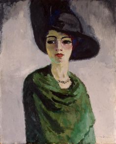 © Kees van Dongen, Lady in a Black Hat, 1908, c/o Pictoright Amsterdam 2010.