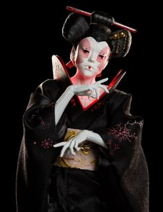 Weta Workshop | Geisha - Ghost in the Shell 1:4 scale figure