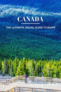 Ultimate Travel Guide to Banff, Canada. What to see, dine, explore and eat in the beautiful town in the Canadian Rockies. ********** Where to stay in Banff British Columbia, Calgary, Quebec, Canada Winter, Canada Vancouver, Montreal Canada, Ontario, Toronto, Banff Canada