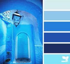 Moroccan Blues Color Palette