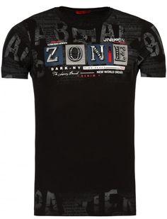 Young Rich ZONE Tshirt Zwart Playeras Hombre bd56b4966c30d