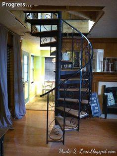diy Spiral Staircase - Part 2