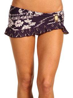 BECCA by Rebecca Virtue - Victorian Gem Skirted Bikini Bottom