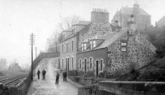 Tour Scotland Photographs: Old Photograph Lilybank Hill Road Newburgh Fife Scotland