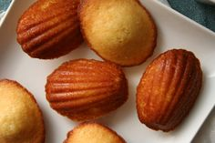 Brown Sugar Honey Madeleines. I'm repinning these for two reasons: 1. They look delicious 2. My name is Madeleine :)
