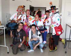 """Con presencia del la Fundación Dr. Clown y el equipo periodístico del Canal Capital con su programa infantil """"Franja Metro"""" en la Unidad de Pediatría del """"Simón"""", los niños de esta unidad pudieron disfrutar de una tarde de sonrisas y mucha alegría."""