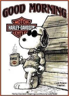 Good Morning Coffee, Good Morning Picture, Morning Pictures, Good Morning Quotes, Baby Snoopy, Snoopy Love, Charlie Brown And Snoopy, Free Fall Wallpaper, Daddys Girl Quotes