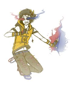 ENERGIZE by Emii-Chanii Sollux is so cute in a weird way. I just love him. And almost everyone else in homestuck. They may be a bunch of assholes, but they're just so... Yeah. You understand, right?