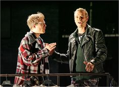 """Everything is Rent..."" Anthony Rapp - Mark. Adam Pascal - Roger."