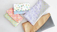 Portemonnaie und Clutch Schnittmuster - Schnittmuster und Nähanleitungen bei Makerist