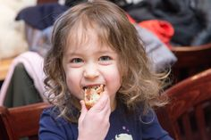 """Kids Try """"Krazy"""" Knishes from Michael's Deli 
