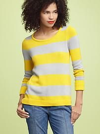 love the yellow stripes.