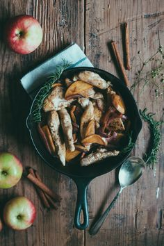 This easy stovetop chicken dish gets a hint of sweetness from apples and a zing from K-J AVANT Chardonnay. It will make your kitchen smell heavenly!