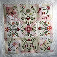 Joy of Life wallhanging. wow, I need to make this one. it's a beauty!