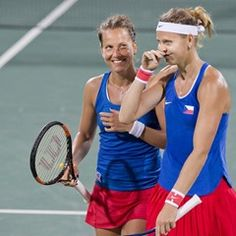 Czech pair defeats Williams sisters at Olympic Tennis