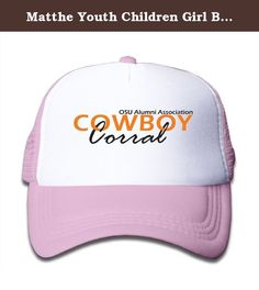 Matthe Youth Children Girl Boy Kids Anime Printed Pattern Oklahoma State University OSU Cowboys Logo Unisex Half Mesh Adjustable Baseball Cap Hat Snapback Pink. The Cap Is Poly Foam Trucker Hat With Screen Print At Front Panel,you Can Find Sun Hats That Blocks Sun Rays From Your Face,ears,neck.You Can Browse Our Selection Of Other Options For Everything From Fishing,hiking,and Skiing To Running And Golf.