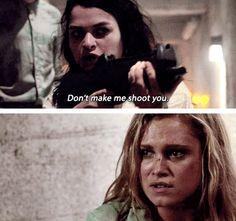 The 100 - Maya and Clarke #2.1 #Season2