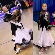 🎁 FREE SHIPPING 🚚 🛒 Order on the website www.ddressing.com - - - #dress #ballroom #dressfordance #dancemom Ballroom Dress, Dance Costumes, Latina, Dresses For Sale, Peplum Dress, Free Shipping, Black And White, Website, How To Wear