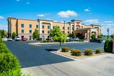 Hampton Inn Bismarck (1440 Mapleton Avenue) This North Dakota hotel, 4 miles from Lewis & Clark Riverboat and Missouri River, features an indoor pool and jacuzzi. Rooms offer 32-inch flat-screen TVs with HBO and video games.  Guest rooms at Hampton Inn Bismarck provide free Wi-Fi and desks. #bestworldhotels #hotel #hotels #travel #us #northdakota