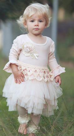 Dollcake Oh So Girly   Tea With My Girls Pink Tutu Dress- (3, 4, 6)