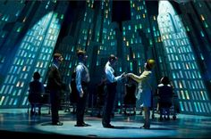 Thoroughly Modern Millie. Drury Lane - Oakbrook. Scenic design by Kevin Depinet.