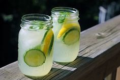 Cucumber Lemonade with Basil (this is pretty grown-up) #saveur #dinnerparty