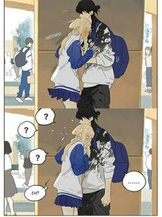 Manhwa, Yuri Anime, Anime Art, Anime Suggestions, Lesbian Art, Bd Comics, Kawaii Art, Yandere, Doujinshi