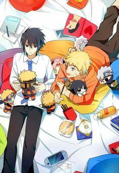 Awww <3 #Sasuke #Naruto #Cute #SasuNaru #NaruSasu