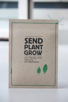 Plantable Postcards You let love grow - New arrivals! - BijzonderMOOI* - Dutch design