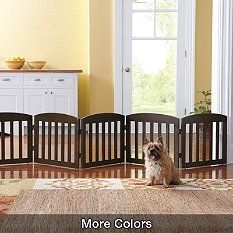 This beautifully crafted Freestanding Wooden Pet Gate is unlike the cumbersome… Puppy Gates, Indoor Dog Gates, Pet Gate, Dog Rooms, Pet Feeder, Dog Houses, Pet Beds, Dog Owners, Pet Supplies