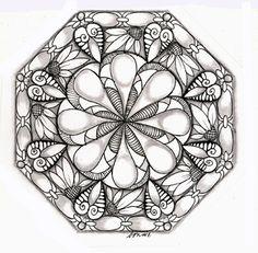 Love Light and Peace: Tangles in strings and zendalas....Mandala para pintar. Mandala for painting. Mandala of coloring