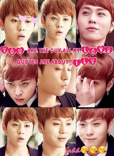 U are the guy all my LOVE quotes are all about... JUNHYUNG
