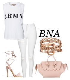 """""""BNA"""" by deborahsauveur ❤ liked on Polyvore featuring Topshop, NLY Trend and CÉLINE"""