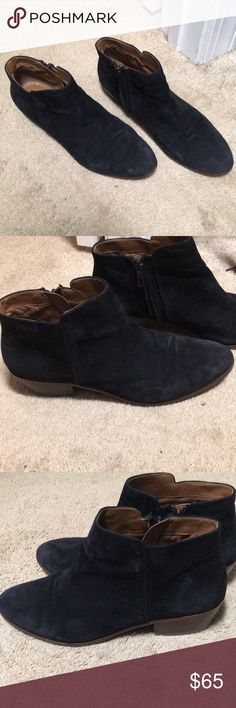 a5b42c233 Sam Edelman petty boots booties 10 Black petty boots