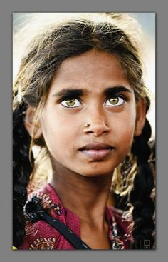 Portrait of a girl.India.