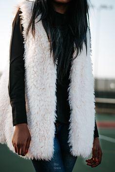 Styling Fur Vest