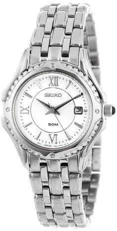 Seiko Women's SXDC35 Le Grand Sport White Dial Watch