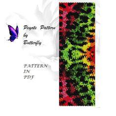 Peyote Pattern BT-022 от ButterflysDesignMRZ на Etsy