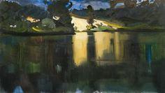 'Escarpment on the Bug River', 2004 - Stanislaw Baj (b. 1953)