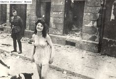 Nazi abuse of Jewish women in ghettos and towns