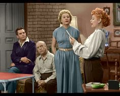 I Love Lucy in color - Page 11 - Sitcoms Online Message Boards - Forums Hollywood Stars, Classic Hollywood, Lucy And Ricky, Lucy Lucy, I Love Lucy Episodes, I Love Lucy Show, Vivian Vance, Queens Of Comedy, Lucille Ball Desi Arnaz