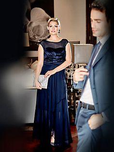 guido maria kretschmer abendkleid rot im heine online shop kaufen dresses pinterest. Black Bedroom Furniture Sets. Home Design Ideas