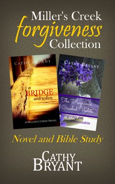 The MILLER'S CREEK FORGIVENESS COLLECTION by Cathy Bryant is free for Amazon Kindle Jan. 27-31, 2015. Two books in one. Details here: http://www.catbryant.com/2015/01/27/free-for-amazon-kindle/ http://www.amazon.com/Millers-Creek-Forgiveness-Collection-Christian-ebook/dp/B00RNRJDEC/ref=as_sl_pc_ss_til?tag=cathbrya-20&linkCode=w01&linkId=GKUTAF4RXOA447IY&creativeASIN=B00RNRJDEC