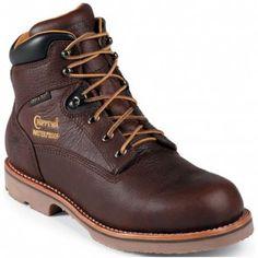 72125 Chippewa Men's Waterproof Work Boots - Briar www.bootbay.com