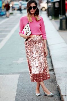 How to Wear Sequins During the Day | StyleCaster