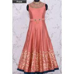 Anarkali Salwars-Dusty Pink-Cutdana work-SL7999 #kurti #salwar #designer #salwar #buyonline #india #bangalore #unitedstates #anamikakhanna