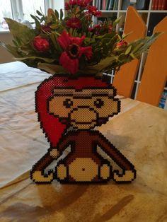 abe med bagside Hama Beads Patterns, Beading Patterns, Perler Bead Art, Perler Beads, Hama Mini, My Little Pony, Homemade, Creative, Sweet Home
